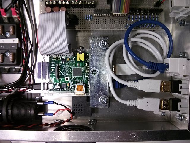 Fireworks Launcher Raspberry Pi Computer – Interface, input and output cables