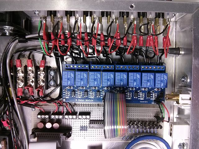 Fireworks Launcher Microcontroller - Optoelectronic relay & transistor interface