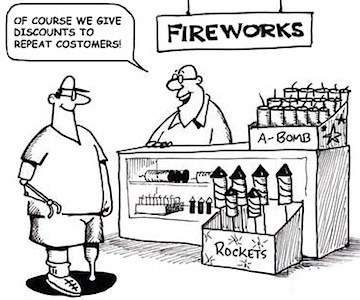 fireworks cartoon